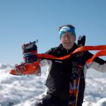 Heinz Polak, ERfinder von find---me Lawinen-und Tiefschneeband
