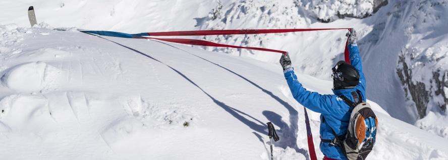 verlorene Ski mit find---me einfach finden und heranziehen
